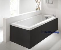 Matt Black 1 Piece Bath Panels